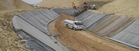 Yol ve Sulama Kanalı İnşaatı